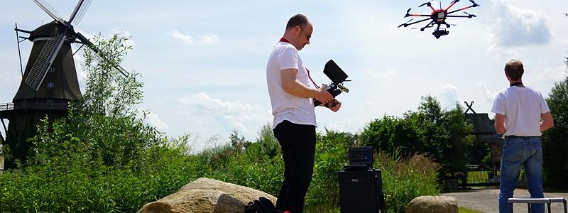 07/14: Luftaufnahmen für Imagefilm