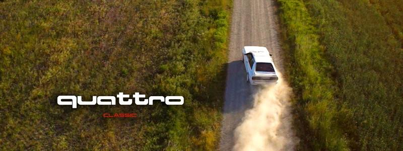 """10/15: Werbespot """"Audi AG – quattro CLASSIC"""""""