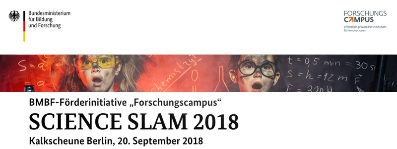 "09/18: Eventvideo-Produktion ""SCIENCE SLAM"""